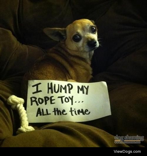 Rope-a-Dope  I hump my rope way to much.