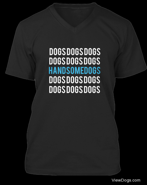 Only 4 days left to purchase your handsomedogs shirt or…