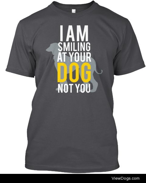 handsomedogs:  Now Available in Europe!Our popular t-shirt…
