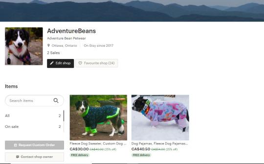 Adventure Bean Petwear by AdventureBeans